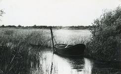 RO_QUACKJESWATER_03 Rockanje; Roeiboot in het Quackjeswater, 1965