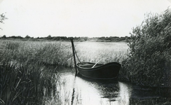 RO_QUACKJESWATER_03 Roeiboot in het Quackjeswater; 1965