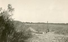 RO_QUACKJESWATER_09 Sluisje in Quackjeswater dat in verbinding staat met het waterleidingskanaal; ca. 1950