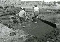 SP_ARCHEOLOGIE_043 Opgravingen in Spijkenisse: Romeins huis met stenen dak op Halfweg II; 16 juni 1983