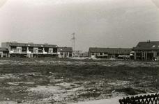 SP_ARCHEOLOGIE_044 Opgravingen in Spijkenisse: het terrein dat als archeologisch monument is aangewezen; Juni 1983