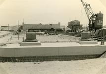 SP_BRUGGEN_BOTLEKBRUG_001 De aanleg van de Botlekbrug; 1955