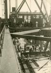 SP_BRUGGEN_BOTLEKBRUG_009 De aanleg van de Botlekbrug; 1955