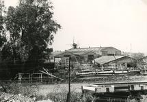 SP_ELEMENTENWEG_001 Het Ganzengors met de scheepswerf Van Hamburg; ca. 1980