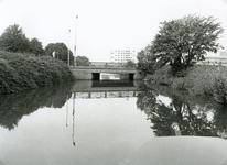 SP_FLUISTERBOOT_008 Spijkenisse; De fluisterboot nadert de brug van de Hekelingseweg, 12 september 2000
