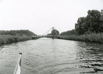 SP_FLUISTERBOOT_012 Spijkenisse; De fluisterboot over het Langevliet langs het Mallebos, 12 september 2000