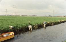 SP_LAGEWEG_001 Werkzaamheden aan de oevers van de watering langs de Lageweg; Juli 1992