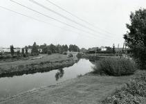 SP_VIERAMBACHTENBOEZEM_025 Spijkenisse; Gezicht op de Vierambachtenboezem en de Heulbrug, 1978