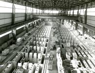 SP_WELPLAAT_029 De fabriek van de Aluchemie op de voormalige Welplaat is in aanbouw; 1967