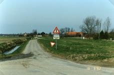 TI_RIETDIJK_003 Rietdijk met links de Sliklandseweg. Links het huis van de fam. Koornneef, midden fam. J. Stolk en ...