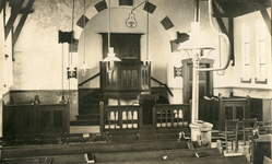 TI_STRYPSEDIJK_005 Interieur van de Gereformeerde Kerk aan de Strypsedijk; ca. 1936