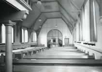 TI_STRYPSEDIJK_006 Interieur van de Gereformeerde Kerk aan de Strypsedijk; ca. 1960