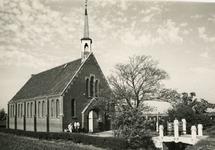 TI_STRYPSEDIJK_015 Interieur van de Gereformeerde Kerk aan de Strypsedijk; 13 juni 1969