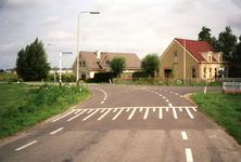 VP_ACHTERDIJK_002 De kruising van de Achterdijk, de Middelweg en Dijkckpotingen; 16 september 1999