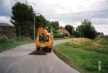 VP_ACHTERDIJK_003 Asfalteringswerkzaamheden aan de Achterdijk; 16 september 1999