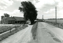 VP_ACHTERDIJK_004 De boerderij van Jan de Snayer; 1987
