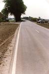VP_ACHTERDIJK_005 De Achterdijk na de reconstructie in 1987 - 1988. Links is nog net de boerderij van Jan de Snayer ...