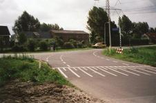 VP_MIDDELWEG_004 De kruising van de Middelweg, de Dijkckpotingen en de Achterdijk; 16 september 1999