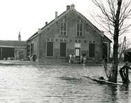 ZL_WATERSNOODRAMP_028 De boerderij Bouwlust van M. Blaak; Februari 1953