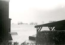 ZL_WATERSNOODRAMP_031 De boerderij Bouwlust van M. Blaak; Februari 1953