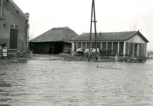 ZL_WATERSNOODRAMP_047 De boerderij Bouwlust van M. Blaak; Februari 1953