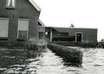 ZL_WATERSNOODRAMP_051 Boerderij van B. Blaak in het water; 1 februari 1953
