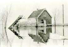 ZL_WATERSNOODRAMP_076 Knechtshuis van M. Blaak; Februari 1953