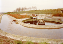 ZW_MEELDIJK_004 Rioolwaterzuiveringsinstallatie; ca. 1990