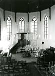 ZW_SCHOOLSTRAAT_029 Interieur van de Ned. Hervormde Kerk (St. Martinuskerk); ca.1960