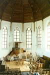 ZW_SCHOOLSTRAAT_040 Preekstoel in de Nederlands Hervormde Kerk (St. Martinuskerk); ca. 1980