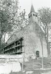 ZW_SCHOOLSTRAAT_045 De Ned. Hervormde Kerk (St. Martinuskerk) tijdens de restauratie; 1992