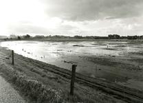 ZW_WATEROVERLAST_32 Ondergelopen weilanden na overvloedige regenval; 16 september 1998