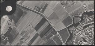 LUCHTFOTO_VOORNE_015A De Schrijversdijk en het noordwestelijk deel van de vesting Brielle, met onder meer het Maarland ...