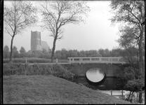 GN2163 De brug achter de oude begraafplaats; ca. 1920