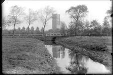 GN2167 Brug achter de oude begraafplaats; ca. 1920