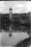 GN2173 De watertoren en het Tramvest; ca. 1925