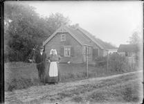 GN2642 Huisje van de familie Noordermeer; ca. 1925