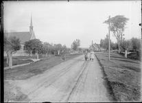 GN2680 De gereformeerde kerk in Tinte; ca. 1925