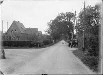 GN2686 Het gedeelte van de Zandweg vanaf de kruising Polderslaan richting de duinen; ca. 1925
