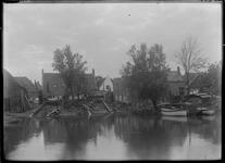 GN5039 Gezicht op het Werfje; ca. 1920