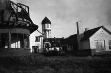 B1018 De Oude Vest na de brand; 1950