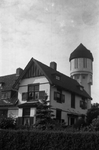 B1402 Watertoren, gezien vanaf de Jan Matthijssenlaan; ca. 1980