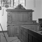 C1957 Kerkbank in de kerk van Rockanje; ca. 1998