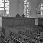 C1958 Kerkbank in de kerk van Rockanje; ca. 1998