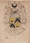 1b20 Wapen van Pieter Boterkoper, oud-commissaris kleine zaken te Enkhuizen, 1689?