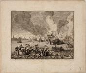 1c57 Zeeslag, tusschen den Graaf van Bossu, en den Noordt Hollanders, voorgevallen den 11. en 12. October 1573, 1573, ...