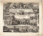 1f128 Herstelling der Waere Godsdienst en Grondwetten in G. Brittannien. Door S.K.H. : Met wegvluchten van het Hof, ...