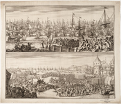 1f129 De aankomst van Willem III in Engeland, 1688, november