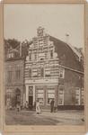foto-30198 Gevel Westerstraat 158 (Anno 1617) te Enkhuizen omstreeks 1900, 1900