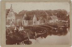 foto-30199 Zuiderboerenvaart te Enkhuizen omstreeks 1900, 1900